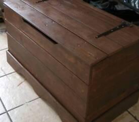 Large blanket/ storage box hand made