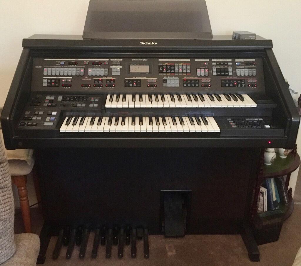 Technics Sx Ex70 Electronic Organ Full Working Order