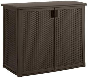 Suncast Elements Outdoor 40-Inch Wide Cabinet - BRAND NEW - FREE SHIPPING
