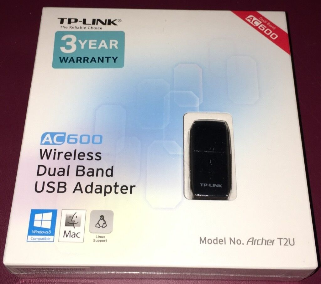 TP-Link T2U AC600 Wireless Dual Band USB Adapter | in Gillingham, Dorset |  Gumtree