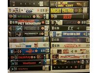VHS Ex Rental Big Box x24 - inc Child's Play, Alien, Born Innocent, Dirty Harry