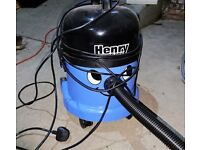 Henry Wet and Dry Vacuum for sale.