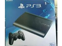 PS3 SUPERSLIM BOXED NEW. £80