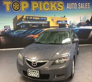 2009 Mazda MAZDA3 GS, AUTOMATIC, POWER GROUP, ALLOYS, LOW KMS!
