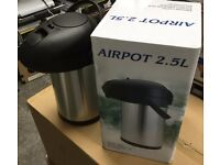 Airpot 2.5L Hot Drink Flask