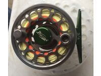 Piscifun #3/4 wt Fly Fishing Reel complete with Cortland 444 Floating line.