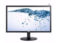 AOC 21.5 inches full hd monitor with warranty for sale