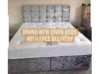 🔴SALE🔴 DIVAN BEDS WITH MATTRESS