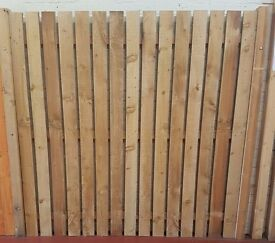 6ft individual fence slats for sale