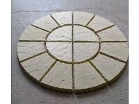 Two ring paving circle