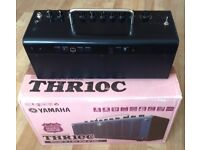 Yamaha THR10C Guitar amplifier in excellent condition. Boxed and with manual and all cable