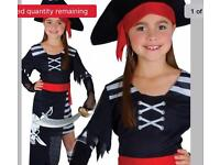 Age 8 pirate dress and hat