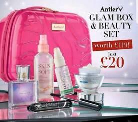 Antler Glam Box gift set