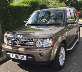 Land Rover Discovery 4 XS SDV6 *8 speed* Auto 4x4 Estate Stunning Bronze,Beige Leather