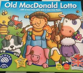 Orchard game old Macdonald lotto bnib