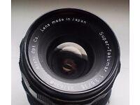 Asahi Super Takumar 35mm f3.5 M42