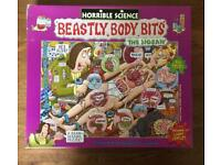 Horrible science jigsaw puzzle beastly body bits