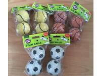 X12 sets of duo dog balls - Brand new