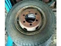 Van wheel and tyre