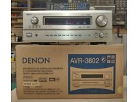Denon AVR-3802 7.1 Home Cinema Receiver. Top of the range. 7 x 105W RMS