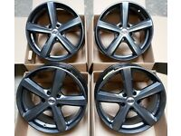 "17"" TEAM DYNAMICS CYCLONE ALLOY WHEELS 5X108 FORD FOCUS MONDEO & TRANSIT CONNECT"