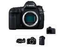 Used Canon 5D Mark III +2 lenses and more!