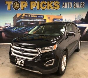 2016 Ford Edge SEL, AWD, Loaded!!!...Accident Free & Certified!