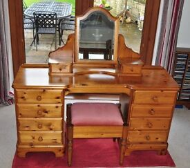 Dressing Table 3 piece set (Ducal Pine)