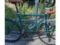 Dark Green medium Goku London Single Speed bicycle