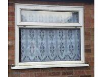 Pvc window x 2