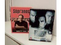 RAZ-ZALVAGE DVD BOXSETS JOBLOT BUNDLE ACTION/GANGSTER MOVIES LOT..