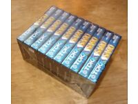 TDK SA90 Type II Blank Cassette Tapes – 10-pack, pre-Imation with Screwed Shells