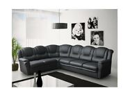 PAY WEEKLY/ MONTHLY TEXAS CORNER OR 3+2 SEATER SOFA LEATHER OR FABRIC £22 PER WEEK