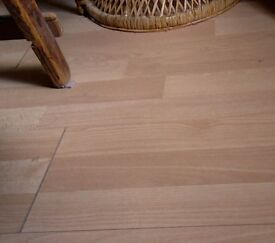Homebase - Baltimore Beech Glueless Laminate, two packages x 2.66 m2 coverage each