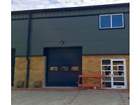 New Industrial Warehouse (B1(C)) with Roller Shutter on Flexible Lease Terms - 1000 Sq.Ft