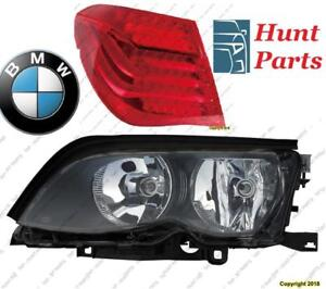 All BMW Head Lamp Tail Headlight Headlamp light Fog Mirror Phare Avant Arrière Antibrouillard Lumière Brouillard Miroir