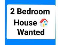 2 bedroom house 🏠wanted for working professionals