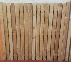 Individual fence slats (6ft)