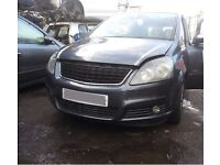 Vauxhall Zafira 07 Grey / Breaking