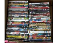 49 Assorted good quality DVDs, job lot £10.