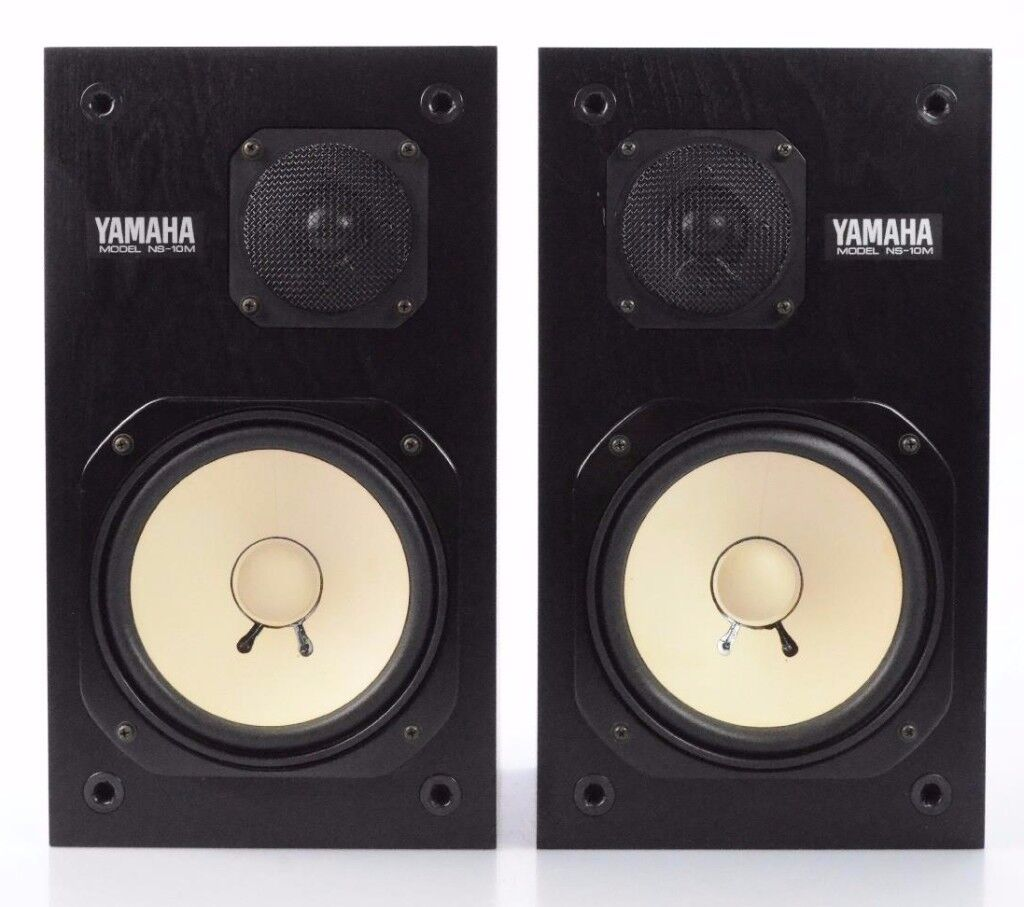 Yamaha NS10M Bookshelf Monitors - FWO