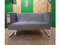 KNOPPARP 2-seat sofa, Knisa light grey, IKEA Milton Keynes #bargaincorner