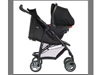 Graco LiteRider LX Travel System Pram / Pushchair Car Seat