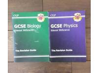 CPG - GCSE Biology and Physics revision guides (edexcel)