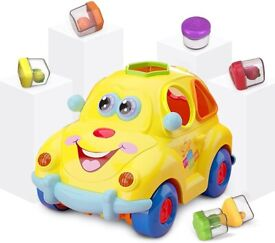 Wholesale Baby Car Toy Age 1 with Music &Light &Fruits, Learning Shape Sorter (24 Units, £5.24/Unit)