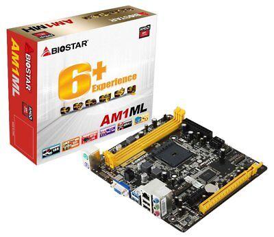 Mainboard - Biostar AM1ML  | Sockel AM1 | Micro - ATX | NEU