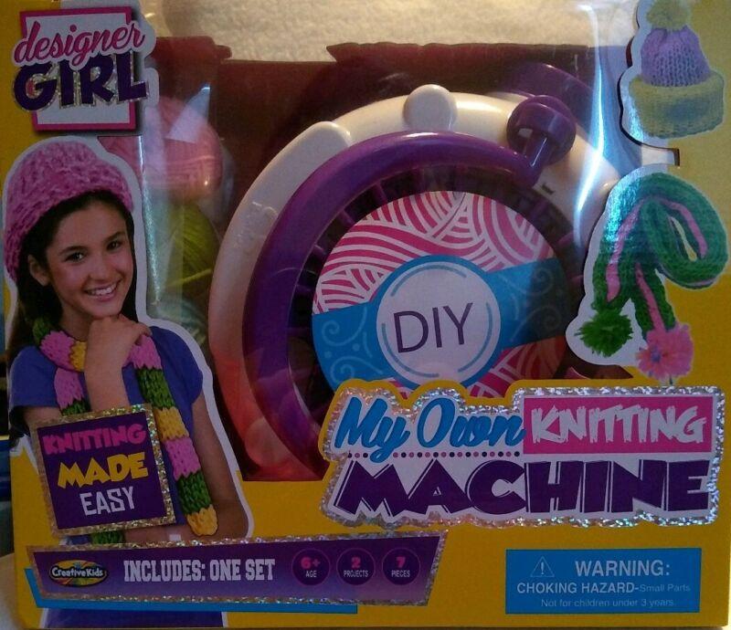 Creative Kids Knitting Machine New in box