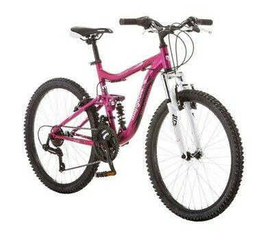 """Mongoose 24"""" Ledge girls Mountain Bike - pink"""