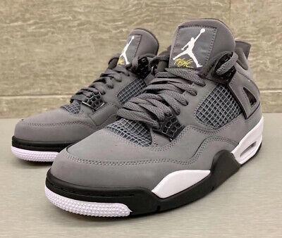 "2019  Nike Air Jordan Retro 4"" Cool Grey""   Preorder   4Y-14 (Ships 8/3)"