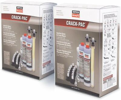 Simpson Strong Tie Etipac10kt-2 Crack-pac Injection Epoxy Kits